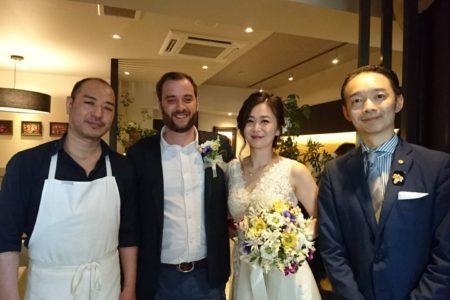 結婚披露宴パーティー